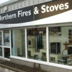 Northern Fire and Stoves front shop window