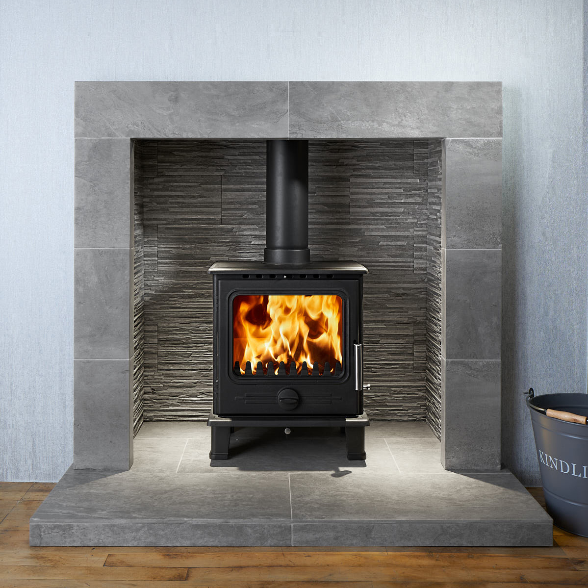 Fireplaces For Log Burners Slate Hearth For Wood Burner