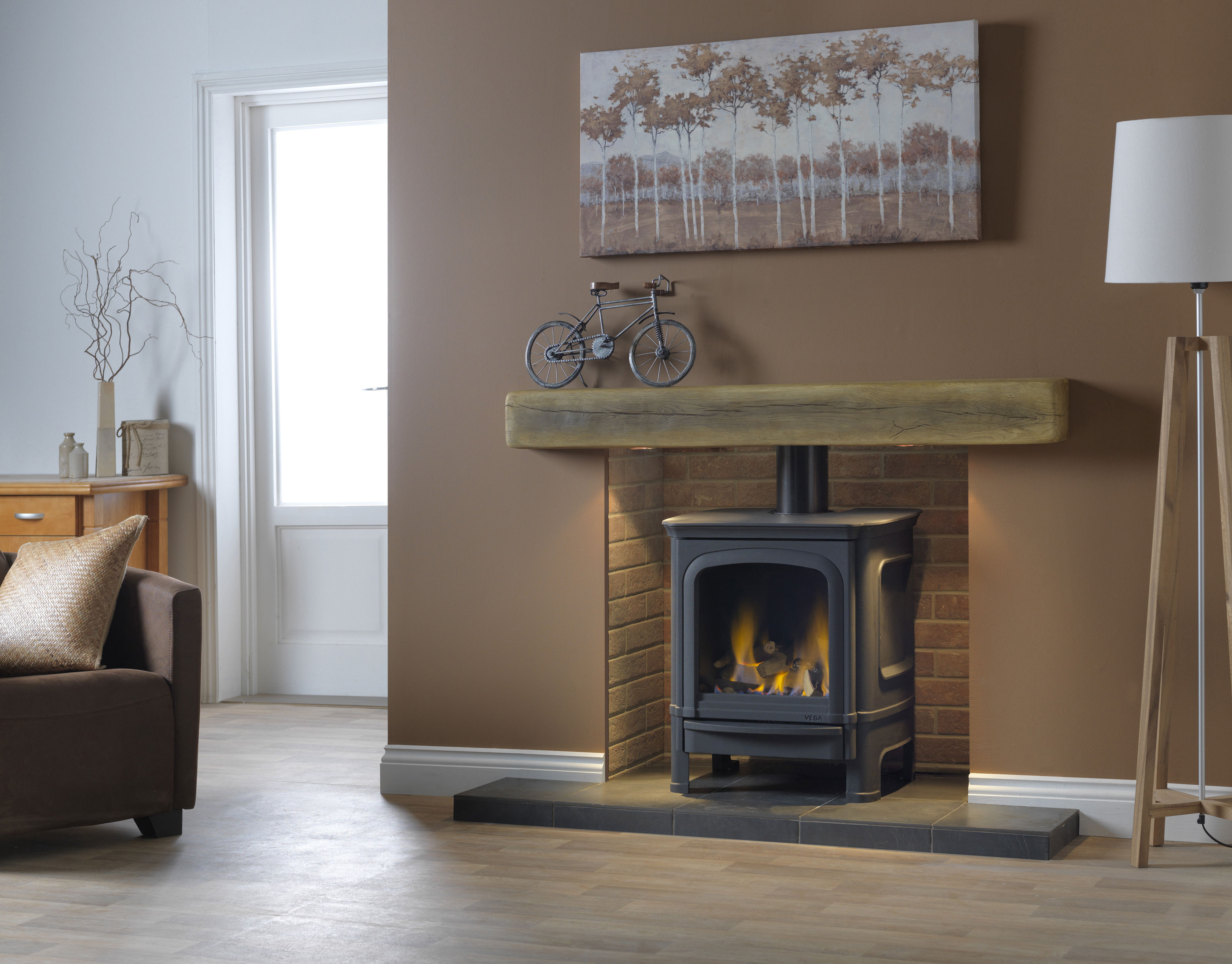 Penman vega b7 gas stove 5 4kw on live display in our showroom