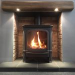 Vega B7 Blanced Flued Gas Stove – Live Display