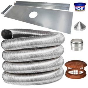 Flue pipe and accessories